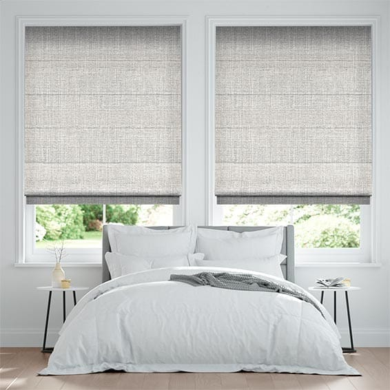 Acantha Warm Grey Roman Blind