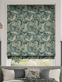 William Morris Acanthus Velvet Forest Roman Blind thumbnail image