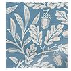 William Morris Acorn Lagoon Roman Blind sample image