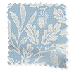 William Morris Acorn Soft Blue Roller Blind slat image