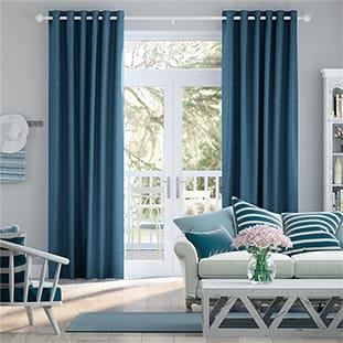 Ahisma Luxe Faux Silk Blue Azure thumbnail image