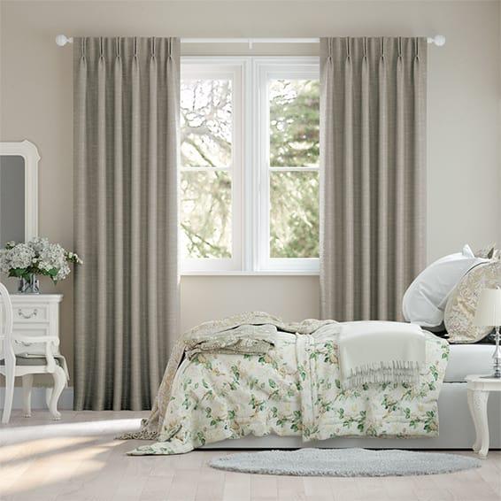 Ahisma Luxe Faux Silk Mink Curtains