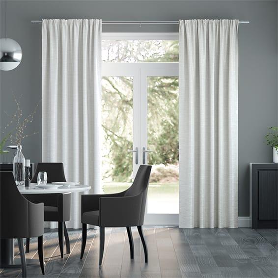 Ahisma Luxe Faux Silk Mist Curtains