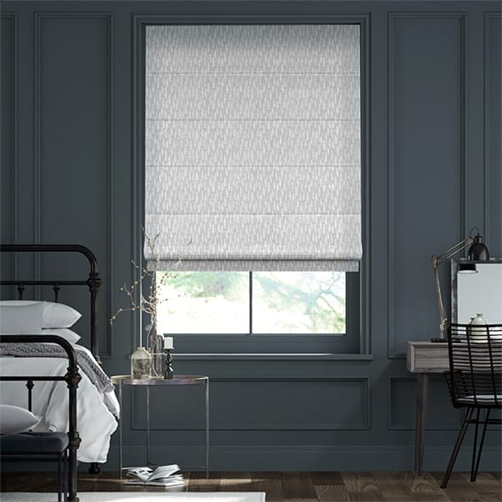 Alcyone Silver  Roman Blind