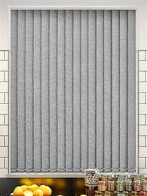 Alicante Marble Silver Vertical Blind thumbnail image