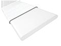Alto White & Tundra Faux Wood Blind sample image