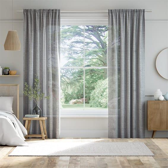 Alyona Grey Haze Curtains