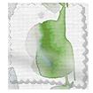 Alyssa Leaf Green Roller Blind slat image