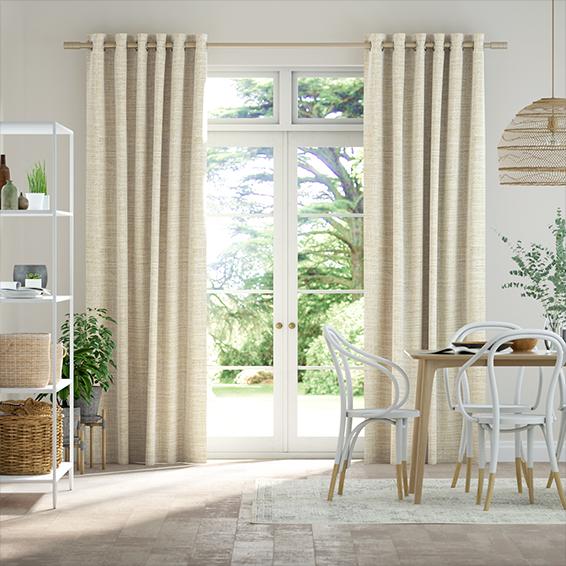 Amalia Parchment Curtains