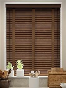 American Walnut & Walnut Wooden Blind thumbnail image