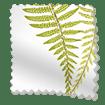 Angel Ferns Olive Roller Blind slat image
