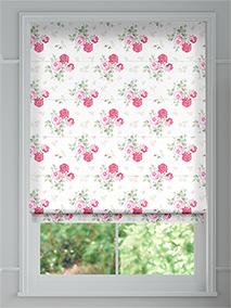 Antique Rose Pink Roman Blind thumbnail image