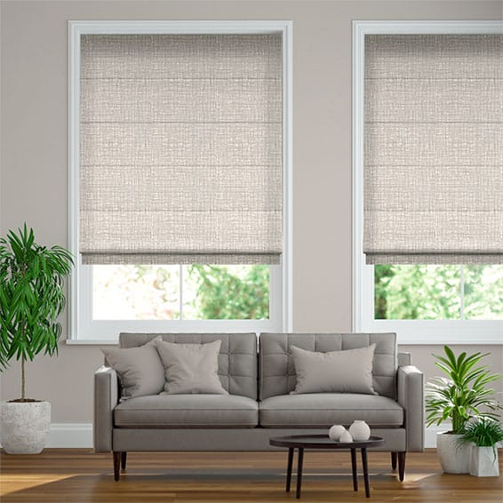 Apollo Moonstone Roman Blind