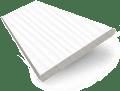 Arctic White Faux Wood Blind - 50mm Slat slat image