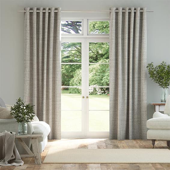 Arlo Softest Grey Curtains