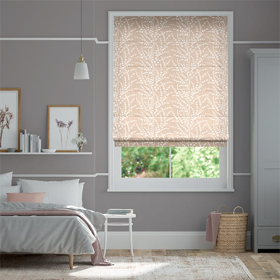 Armeria Blush Roman Blind