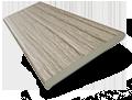 Metropolitan Ashen Oak - Wooden Blind - 50mm Slat slat image