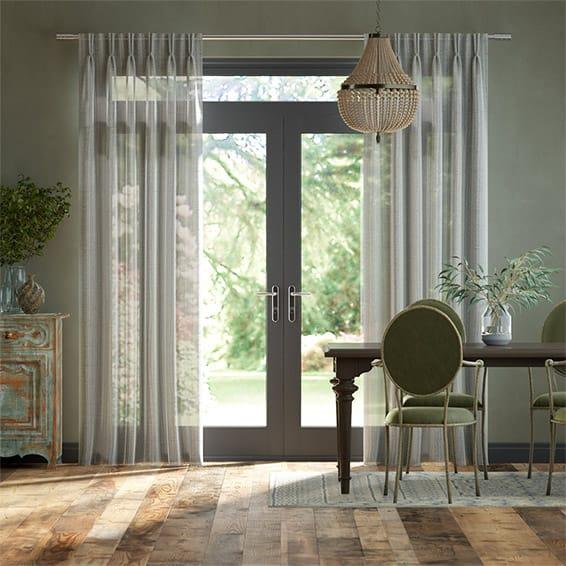 Aubade Voile Stone Curtains