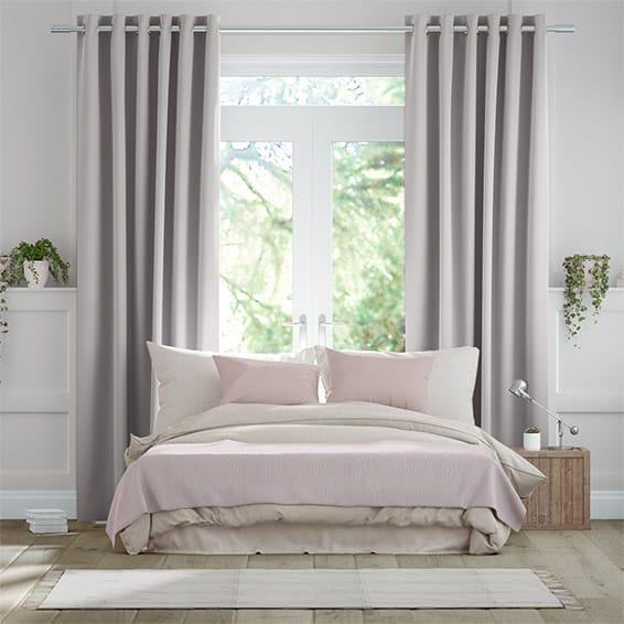 Aura Oyster Curtains