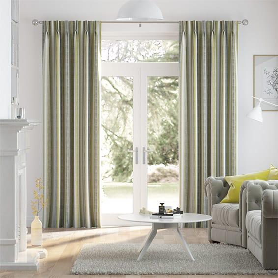 Aymara Linen Lime Curtains