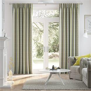 Aymara Linen Lime Curtains thumbnail image