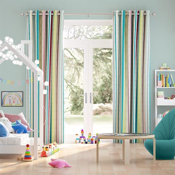 Bahia Grape Curtains