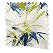 Bamboo Silhouette Blue Zest Roman Blind swatch image