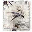Bamboo Silhouette Damson Roman Blind sample image