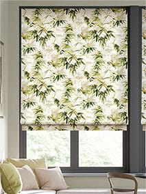 Bamboo Silhouette Forest Roman Blind thumbnail image