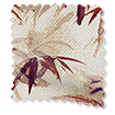 Bamboo Silhouette Paprika Roman Blind swatch image