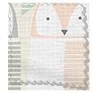 Barnie Owl Shell Roman Blind swatch image