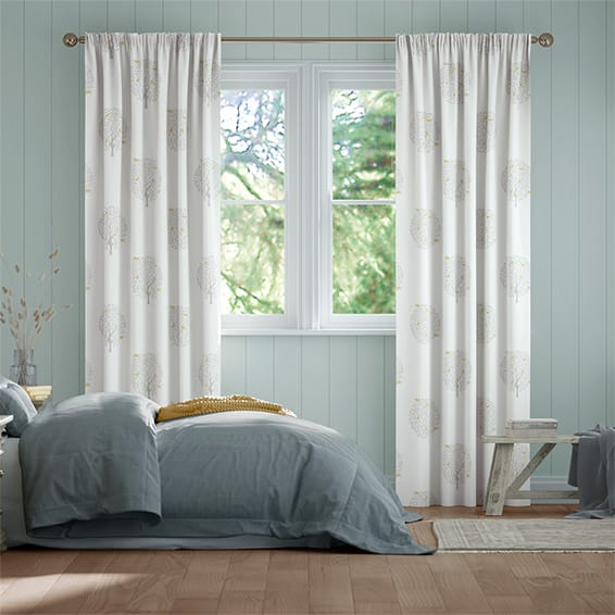 Bay Tree Dove Curtains