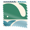 Beluga Blackout Azure Roller Blind sample image