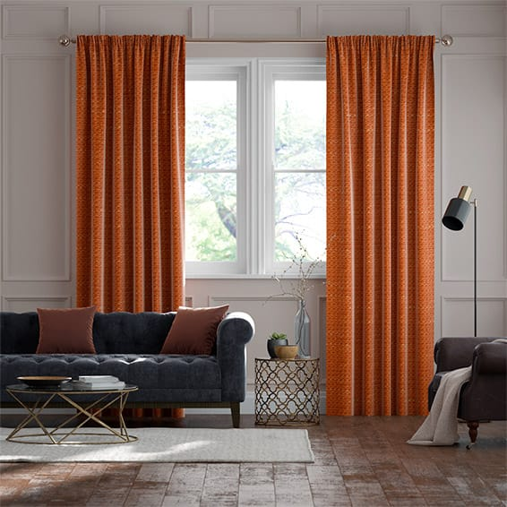Berber Pumpkin Curtains