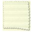 BiFold ClickFIT DuoLuxe Buttermilk Pleated Blind slat image