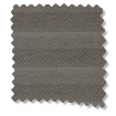 BiFold ClickFIT DuoLuxe Pewter  Pleated Blind slat image