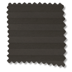 BiFold ClickFIT DuoShade Charcoal Pleated Blind slat image