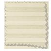 BiFold ClickFIT DuoShade Cream Pleated Blind slat image