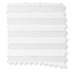 BiFold ClickFIT DuoShade Frost White Pleated Blind slat image
