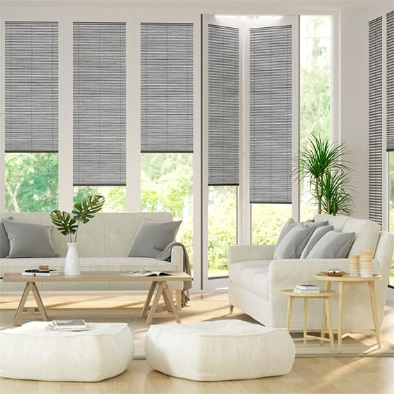 BiFold ClickFit Premier Haze Pleated Blind