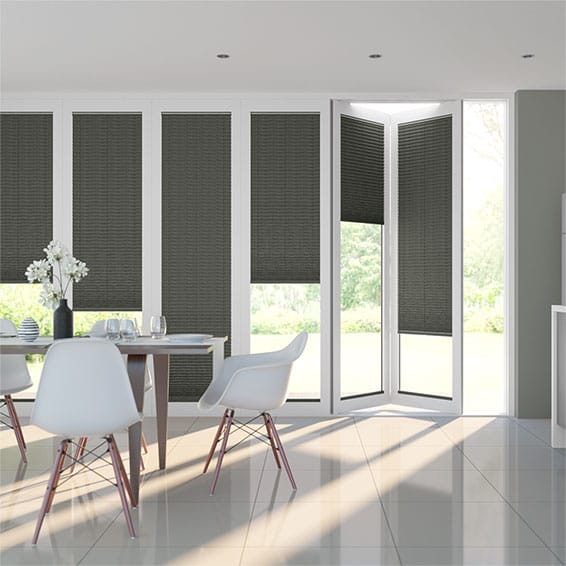 BiFold ClickFit Premier Iron Pleated Blind