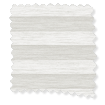 BiFold ClickFIT Supreme White Pleated Blind slat image