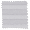 BiFold ClickFIT Palest Grey Pleated Blind slat image