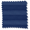 BiFold ClickFIT Royal Blue Pleated Blind slat image