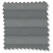BiFold ClickFIT Slate Grey Pleated Blind sample image