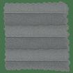 BiFold ClickFIT Slate Grey Pleated Blind slat image