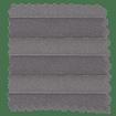 BiFold ClickFIT Storm Grey Pleated Blind slat image