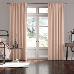 Bijou Linen Vintage Pink Curtains thumbnail image