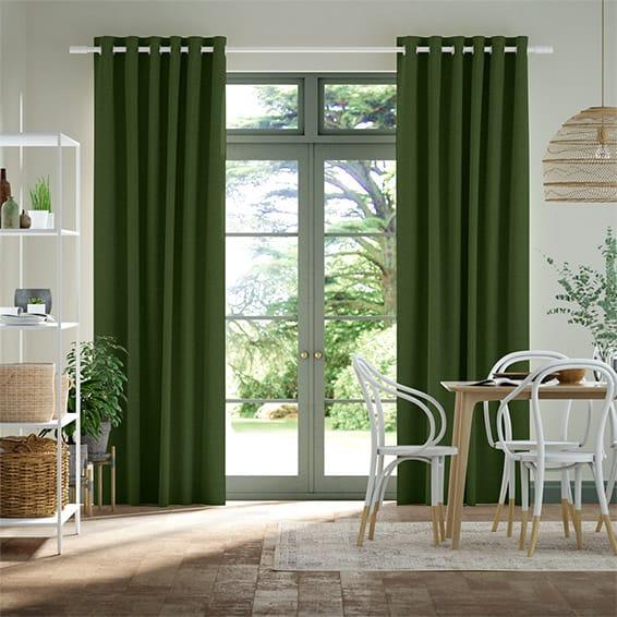 Bijou Linen Pear  Curtains