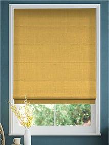 Bijou Linen Sunflower Roman Blind thumbnail image